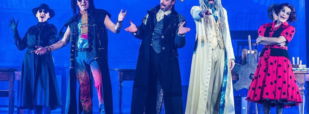 LA BIBBIA RIVEDUTA E SCORRETTA in tour nei principali teatri italiani! Non perdetevela, sarebbe…