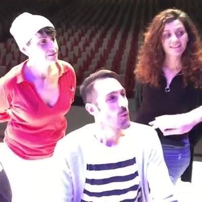 Dal palco del Teatro Sistina