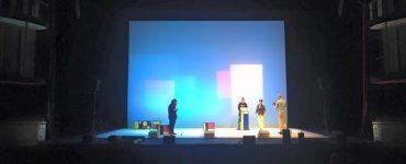 Prima immagine degli Oblivion sul palco del Teatro Sistina. Prove in corso! Ci vediamo…