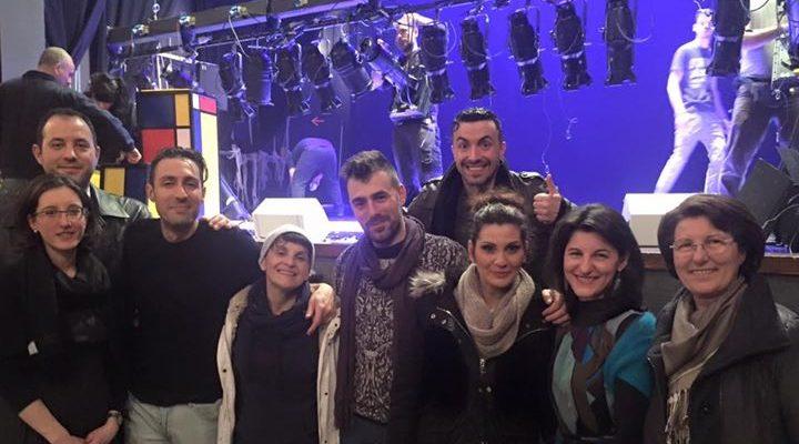 Gli amici di Paoul Calzaturificio questa sera con noi. Tutto il tour si regge…