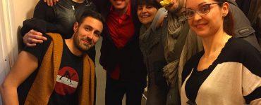 Stasera amici magici in camerino! @raul_cremona #oblivion #thehumanjukebox #milano #raulcremona #teatro #spettacolo #show #musica…