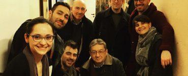 Continua la carrellata di amici che vengono a trovarci al #teatroleonardo di #Milano Ieri…