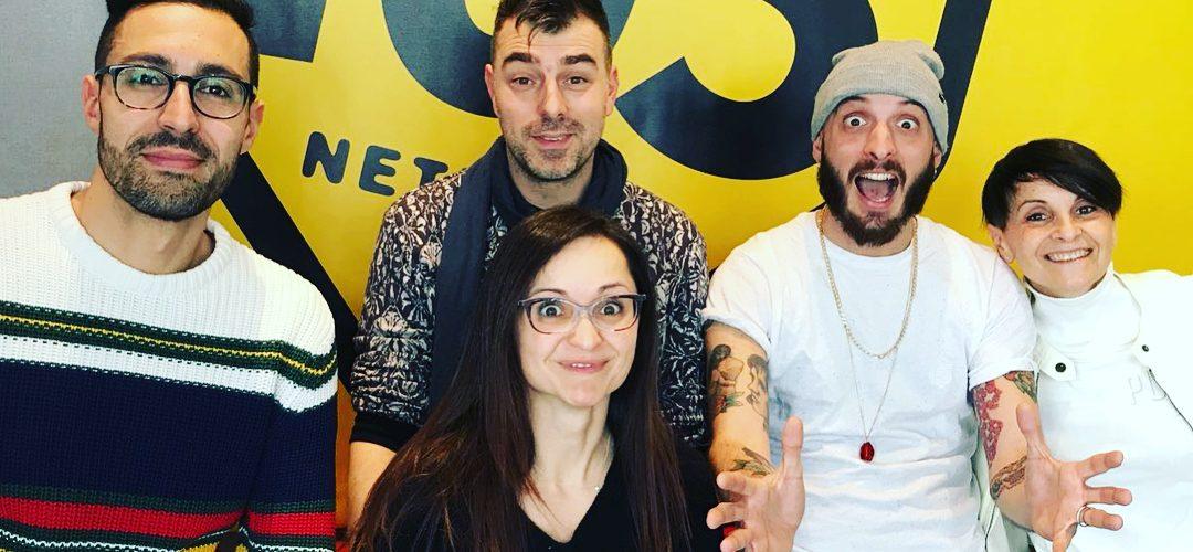 Bella mattinata a @radio105 con @mokogoes #105weekend #oblivion #radio105 #milano #cosafareamilano #spettacolo #show #musica…