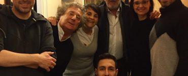 Ieri sera l'amico Enzino #enzoiacchetti è venuto a trovarci al #TeatroLeonardo di #milano e…
