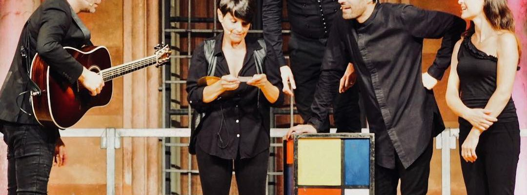 "Arrivederci ""The Human Jukebox"" e benvenuta ""La Bibbia Riveduta e Scorretta"". Foto @Salvo Liuzzi…"