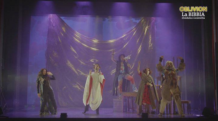 Il primo musical degli Oblivion, interamente originale, è finalmente arrivato! LA BIBBIA RIVEDUTA E…