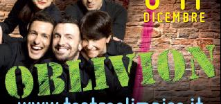 Stiamo per tornare a Roma! Dal 6 al 11 dicembre al Teatro Olimpico. Daje!