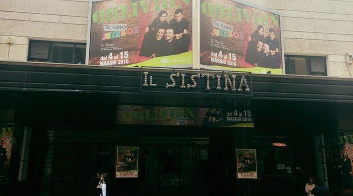 Alle 17 il nostro jukebox si riaccende al Teatro Sistina Di Roma!