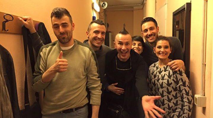 Ultima bellissima replica a Milano. Foto di fine show con Arturo Brachetti Official Page…